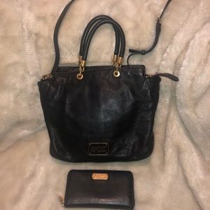 Marc Jacobs Satchel with matching wallet